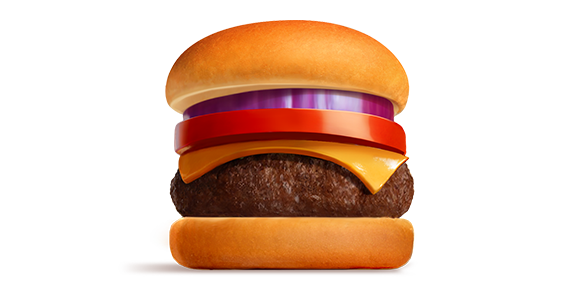 Burger-Illustration
