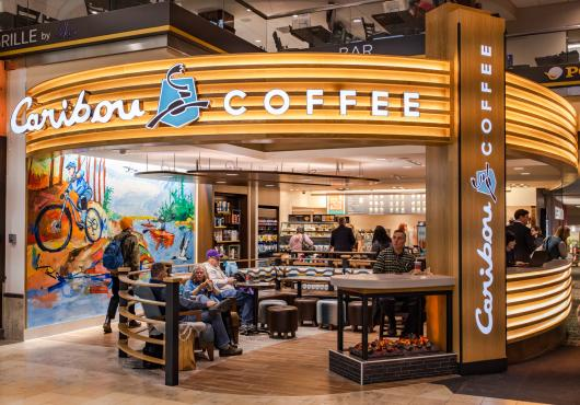 Caribou Coffee Mall