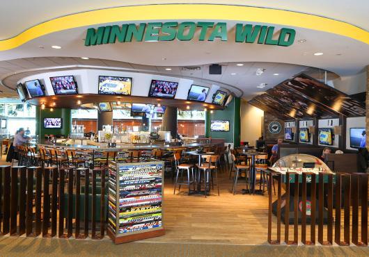 Minnesota Wild Bar And Restaurant Msp Airport