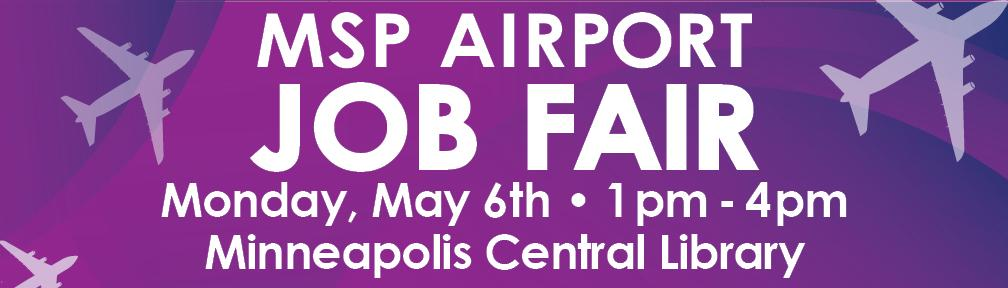 Job Fair: May 6