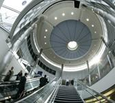 ceiling dome at airport