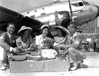 Northwest Airlines old photo