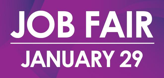Job Fair: January 29, 2019